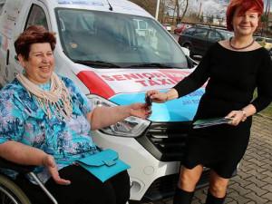 Zájem o senior taxi ve Vyškově je značný, jelo se 3000krát