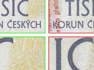 V Brně jsou v oběhu padělané bankovky. Podívejte se, jak je poznáte