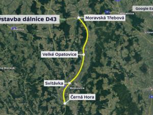Nový silniční tah na Svitavy se začne v nejlepším případě stavět v roce 2025