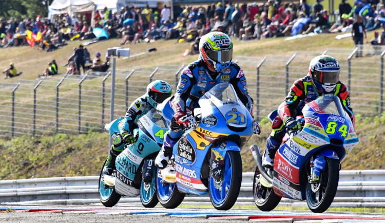 MotoGP: Kornfeil dojel devátý, Salač a Abraham nebodovali. Seriál ovládli Španělé