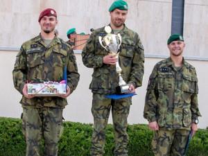 Nejlepším armádním řidičem je četař Ondřej Špaček z Bučovic, titul získal minulý týden ve Vyškově