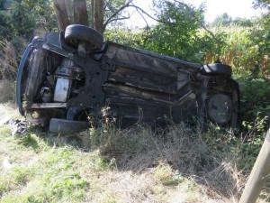 Pervitinem sjetá řidička zranila sebe i spolujezdce