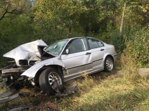 Řidič v Brně narazil do sloupu veřejného osvětlení, na místě zemřel