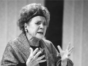 Zemřela brněnská rodačka, herečka a signatářka Charty Vlasta Chramostová