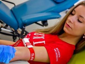 Do ledna sto litrů krve. Takový je plán studentů Masarykovy univerzity