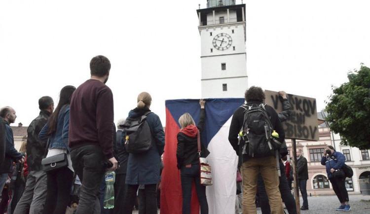 Vyškovští demonstranti se přihlásili k hnutí Milion chvilek pro demokracii