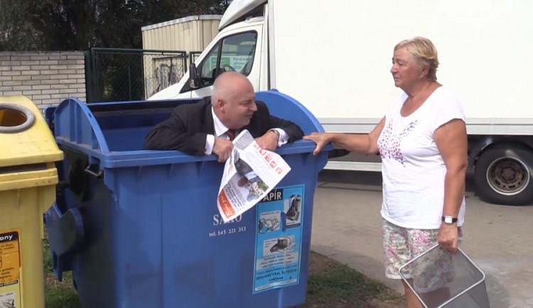 Senioři a malé děti budou v Brně nově osvobozeni od placení za odpad