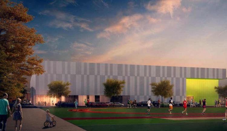 Parkoviště u nové atletické haly v Bohunicích bude oproti původnímu návrhu třikrát větší