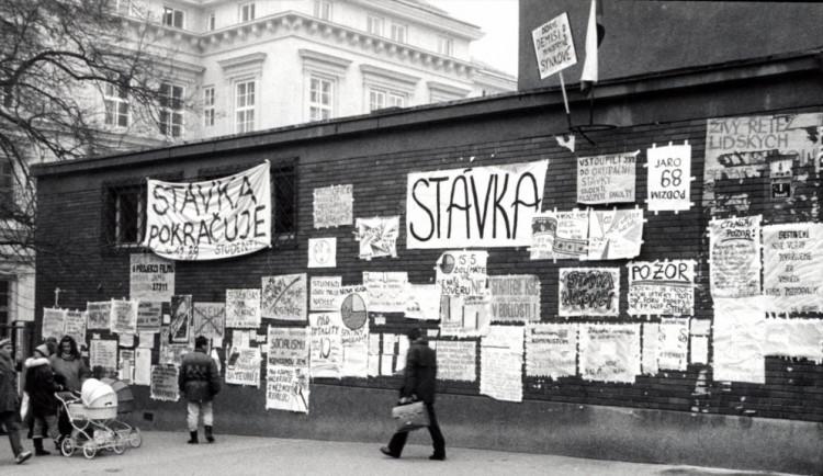Brno ožije oslavami třiceti let od Sametové revoluce