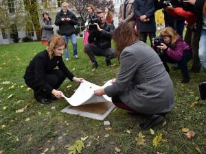 V Brně pojmenovali park po oběti komunistického režimu Danuši Muzikářové