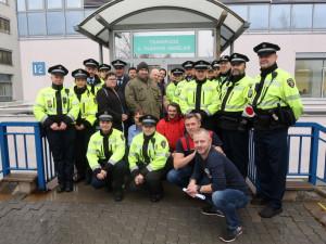 Brněnští strážníci darovali krev