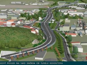 Východní část velkého městského okruhu v Brně má zelenou