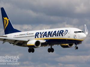Ryanair ruší leteckou linku z Brna do Berlína. Naposledy vyletí na konci března příštího roku