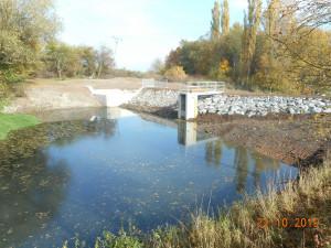 Povodí Moravy obnovilo na Blanensku nádrž Borotín