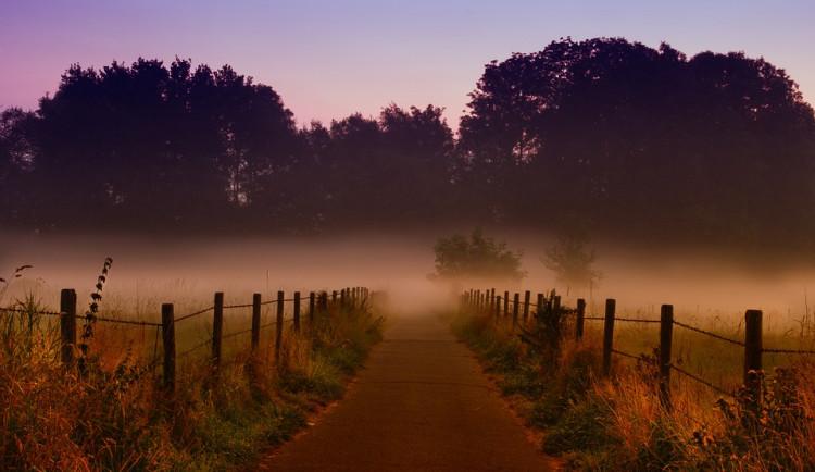 POČASÍ NA PONDĚLÍ: Ráno bude mlhavo, teploty přes den ale stoupnou až na devět stupňů