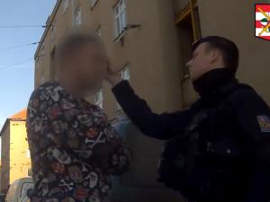 VIDEO: Mám v autě igelitku plnou kvalitní trávy, přiznal se zkouřený řidič policistům v Brně