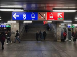 Z podchodu u Hlavního nádraží vyroste eskalátor. Pojízdné schody si Brňáci odhlasovali  v anketě Dáme na vás
