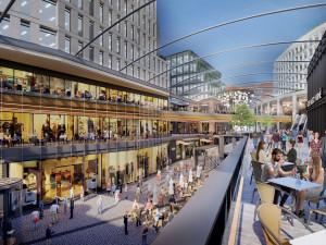 FOTO: Konec hrůzné budově Tesca. Developer představil novou vizi nákupního centra na Dornychu