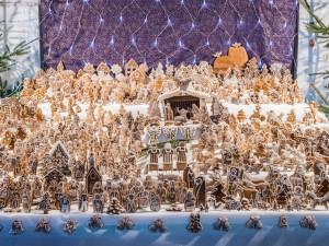Židenický kostel ukrývá největší perníkový betlém v Česku. K vidění bude až do 6. ledna