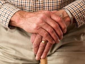 Projíždějící řidič měl strach o nesoběstačného seniora. Senior se při příjezdu strážníků pobavil
