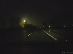 VIDEO: Severní obzor v neděli nad ránem prořízl jasný meteor