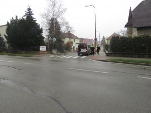 Řidič srazil v Blansku ženu, policisté hledají svědky