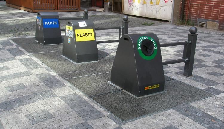 Podzemní kontejnery se letos objeví v Králově Poli a Líšni. Postupně nahradí tradiční popelnice