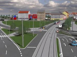 V Brně ve Svatopetrské už jsou koleje pro novou tramvajovou trať