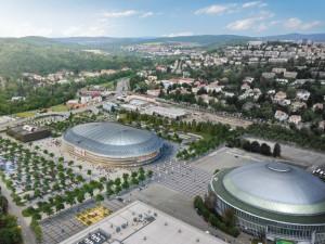 Multifunkční hala v Brně získává finální podobu. Stavět by se měla začít v příštím roce