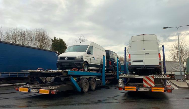 Slovenští dopravci opět blokují hraniční přechod Břeclav-Brodské