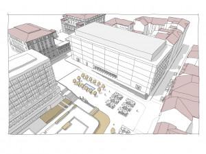 Před novým koncertním sálem  v Brně vznikne náměstí, ponese jméno Ludvíka Kundery