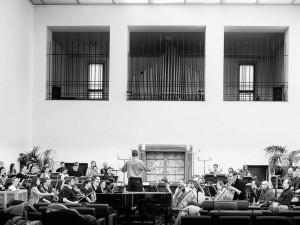 VIDEO: Síní brněnského krematoria zazněl netradiční koncert současné vážné hudby
