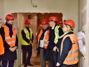 Psychiatrické oddělení Fakultní nemocnice v Brně prochází rekonstrukcí, na opravy padne téměř tři čtvrtě miliardy