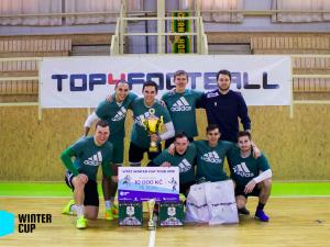 Brněnské Superfinále Winter-Cup tour ovládl tým FK Vegas