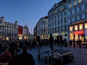 V Brně si lidé připomněli dva roky starou Kuciakovu vraždu