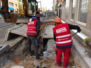 Brno letos čekají opravy za více než dvě miliardy, rekonstrukcí projdou tramvajové tratě, silnice i kanalizace