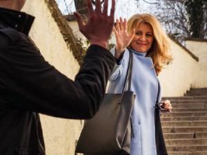 Slovenská prezidentka Zuzana Čaputová navštíví Brno. Prezident Zeman ani premiér Babiš nepřijedou