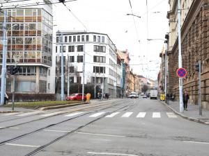Ulice Veveří se od půlky dubna uzavře. Dělníci vymění staré vodovody a kanalizaci