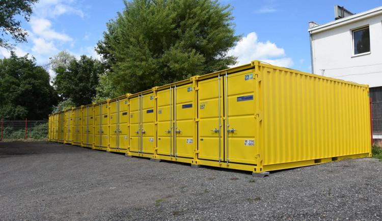 Uskladnění přebytečných věci v Brně? Využijte skladovací kontejnery Diskont Depot