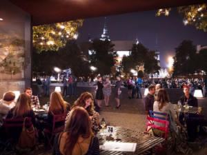 FOTO: Moravák projde příští rok rekonstrukcí. Prostor oživí kavárna, stromy v parku zůstanou