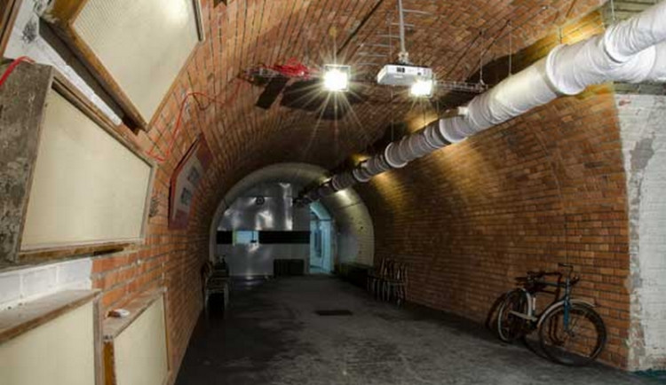 Atomový kryt pod Špilberkem zítra spouští online prohlídky. Vstupné bude zdarma
