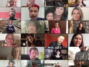 VIDEO: Hudbou se to nepřenáší. Na sociálních sítích sklízí úspěch nádherná píseň ansámblu Janáčkovy opery