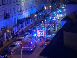 V Brně hořel byt v Helfertově ulici, hasiči museli evakuovat 26 lidí