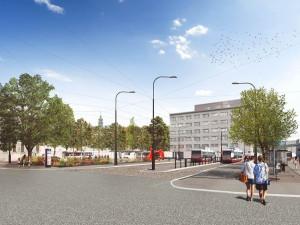 Mendlovo náměstí dostane za dva roky nový kabát. Lidé se mohou těšit na více zeleně i bezbariérový přístup