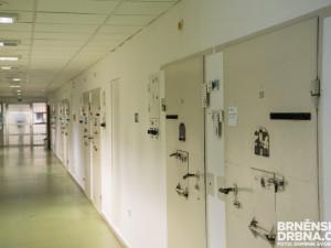 V brněnské vazbě sedí první vězeň nakažený koronavirem v Česku. Nemoc šířil úmyslně