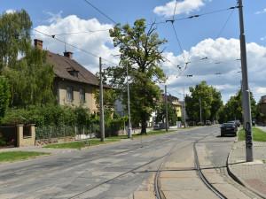 Frekventovaná ulice Lesnická v Brně projde kompletní rekonstrukcí