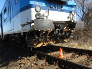 Vlak v Brně dnes srazil muže, který na místě zemřel