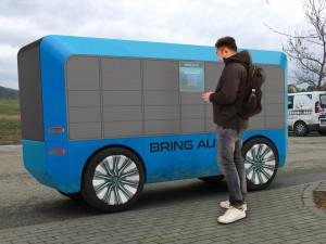 Brněnská firma testuje samořídící rozvážkové auto