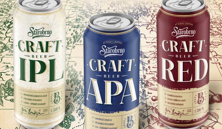Starobrno představuje craftová piva. A posílá tipy na světová místa v Česku