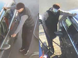 FOTO: Policie pátrá po nenasytném fantomovi v Passatu. Tankuje naftu zadarmo a mění registrační značky
